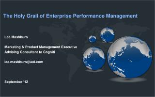 The Holy Grail of Enterprise Performance Management