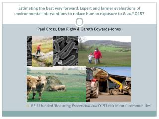 Estimating the best way forward: Expert and farmer evaluations of environmental interventions to reduce human exposure t