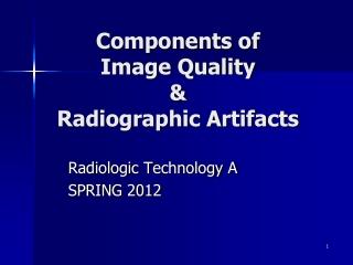 image production  evaluation