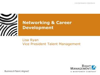 Networking & Career Development