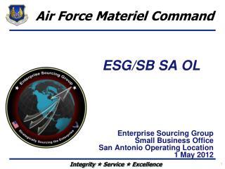 ESG/SB SA OL