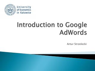 Introduction  to Google  AdWords