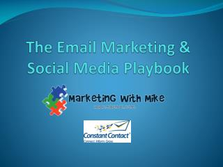 The Email Marketing & Social Media Playbook