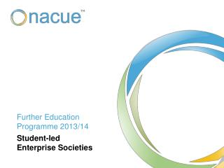 Further Education Programme 2013/14