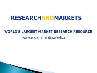 Our expertise lies in the marketing and reselling of publications, market research reports & business resources on b