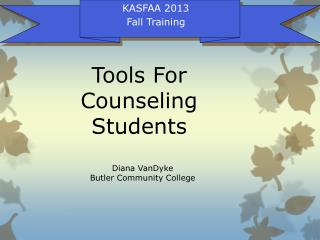 Tools For Counseling Students