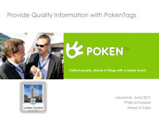 Provide Quality Information with PokenTags