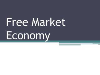 Free Market Economy
