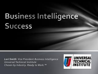 Business Intelligence Success