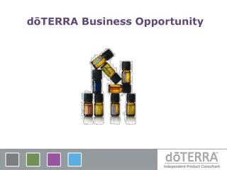 dōTERRA Business  Opportunity