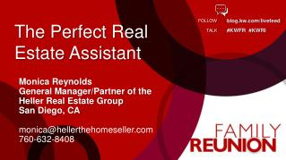 The Perfect Real  Estate Assistant