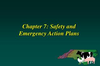 Chapter 7: Safety and  Emergency Action Plans