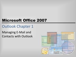 Outlook Chapter 1