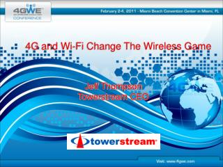 4G and Wi-Fi Change The Wireless Game