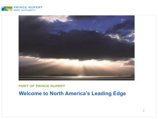 Welcome to North America's Leading Edge