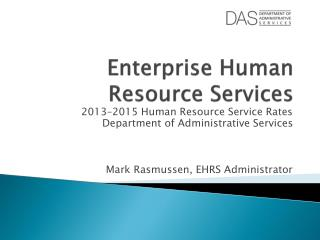 Enterprise Human Resource Services