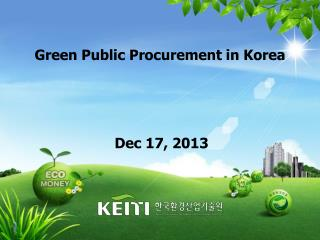 Green Public Procurement in Korea
