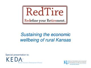 Sustaining the economic  wellbeing of rural Kansas