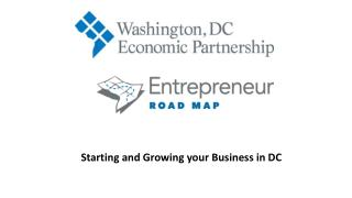 Starting and Growing your Business in DC