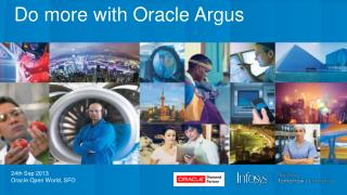 Do more with Oracle Argus