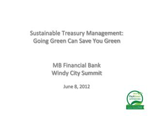 MB Financial Bank Windy City Summit