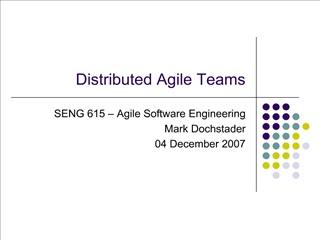 distributed agile teams