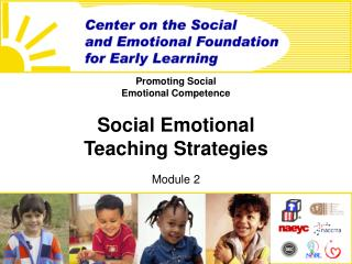 promoting social  emotional competence  social emotional teaching strategies