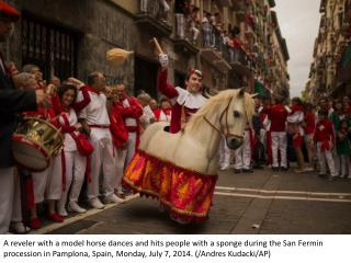 Spanish horses in festival and sport
