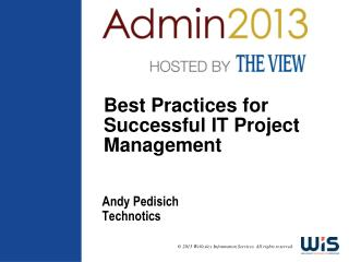 Best Practices for Successful IT Project Management