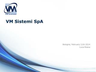 VM Sistemi SpA
