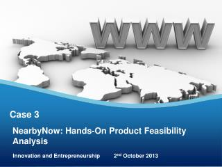 NearbyNow: Hands-On Product Feasibility Analysis