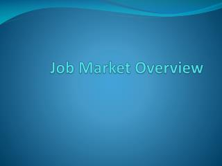 Job Market Overview
