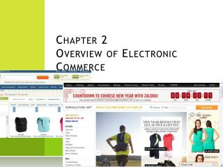 Chapter 2 Overview of Electronic Commerce