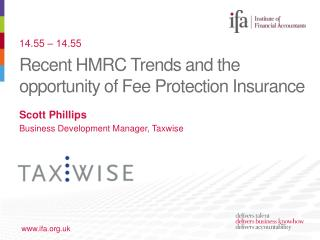 Recent HMRC Trends and the opportunity of Fee Protection Insurance