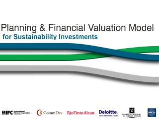 Challenge:   Linking Sustainability  & Financial Value