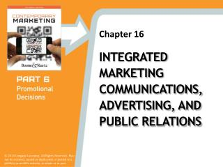 Integrated Marketing Communications, Advertising, and Public Relations