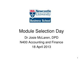 Module Selection Day