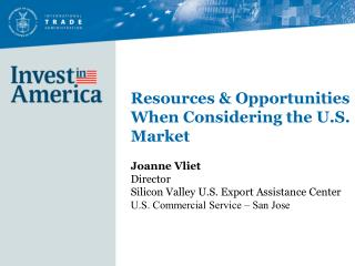 Resources & Opportunities When Considering the U.S. Market