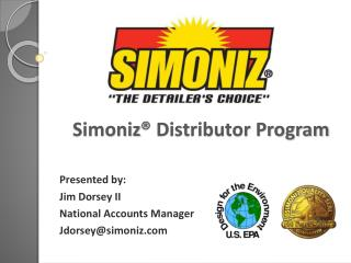 Simoniz ® Distributor Program