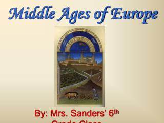 Middle Ages of Europe