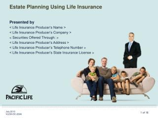 Estate Planning Using Life Insurance