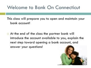 Welcome to Bank On Connecticut