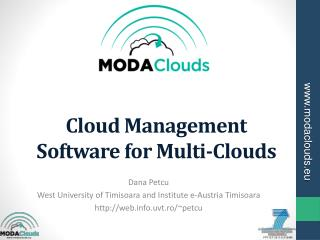 Cloud Management Software for Multi-Clouds