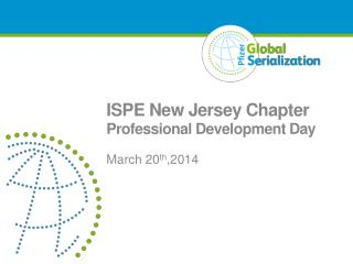ISPE New Jersey Chapter  Professional Development Day