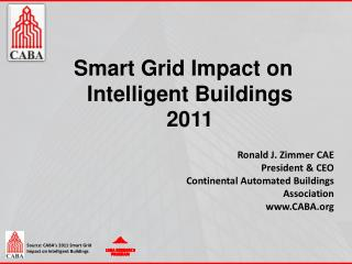 Smart Grid Impact on Intelligent Buildings 2011