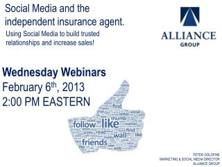 Using Social Media to build  trusted relationships and  increase  sales!