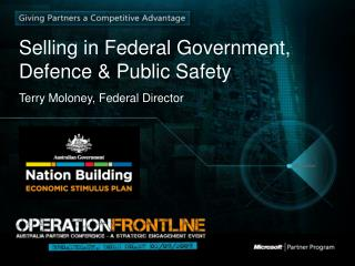 Selling in Federal Government, Defence & Public Safety
