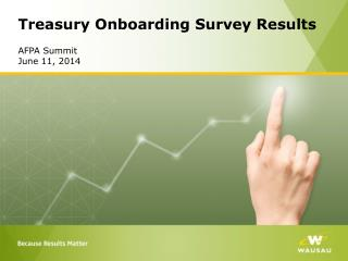 Treasury Onboarding Survey Results