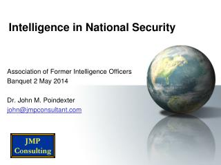 Intelligence in National Security