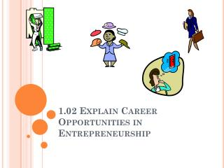 1.02 Explain Career Opportunities in Entrepreneurship